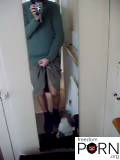 Volodya - amateur masturbation video in bathroom 01 mirror