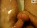 Volodya - short bath anal fingering